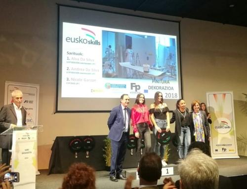 NICOLE GARZÓN RECIBE PREMIO EUSKOSKILLS 2018