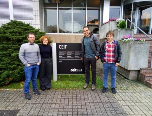 Visita a CEIT con el proyecto del vivero de empresas