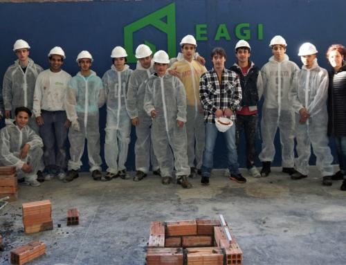 Alumnos de Donostia de la Fundación ADSIS de FP en EAGI