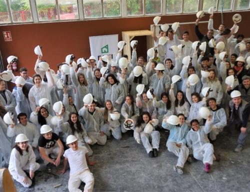 Alumnos de Arquitectura de EHU de Donostia en EAGI